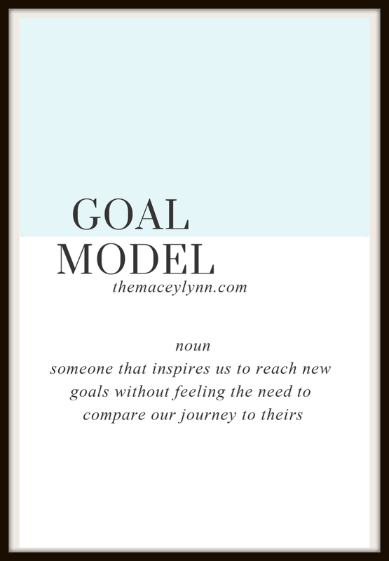 Be Your Own Goal Model - By TheMaceyLynn